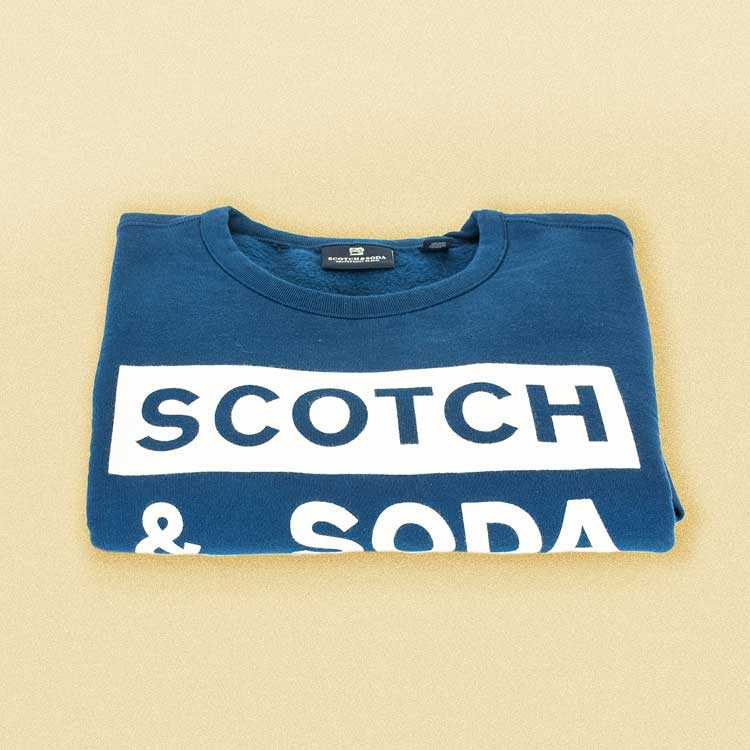 Dodge the bad weather with a Scotch & Soda sweater
