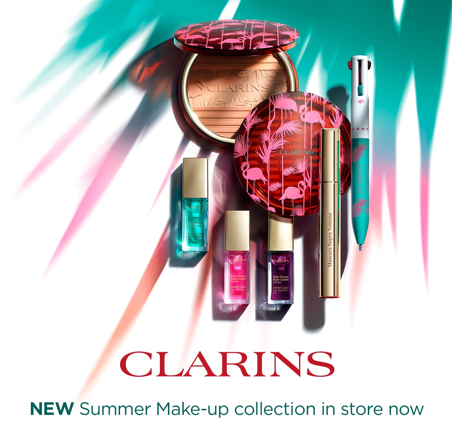 Clarins Summer 2018 make-up collection