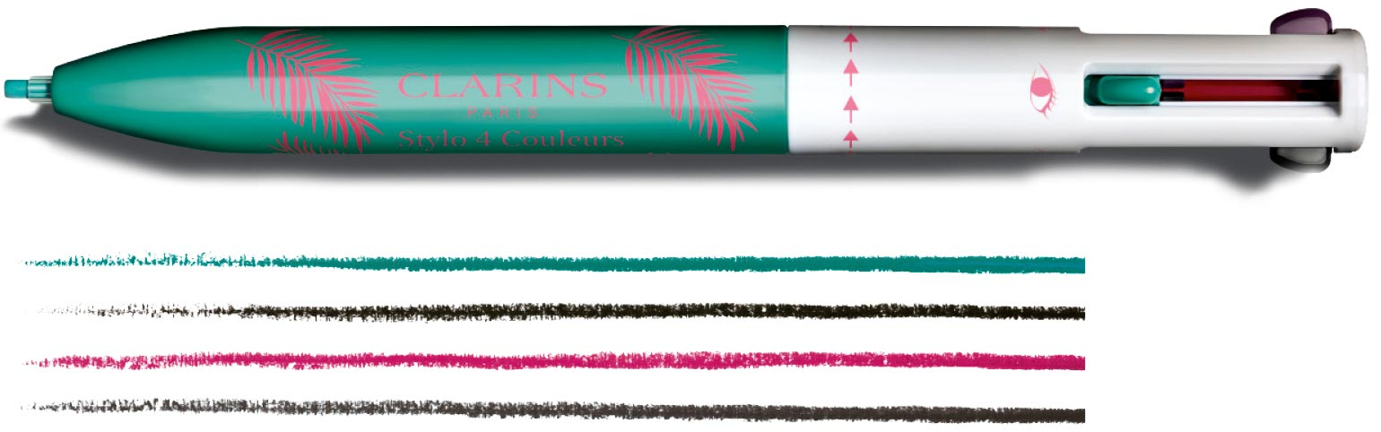 Clarins NEW 4-Colour Pen (Limited Edition)