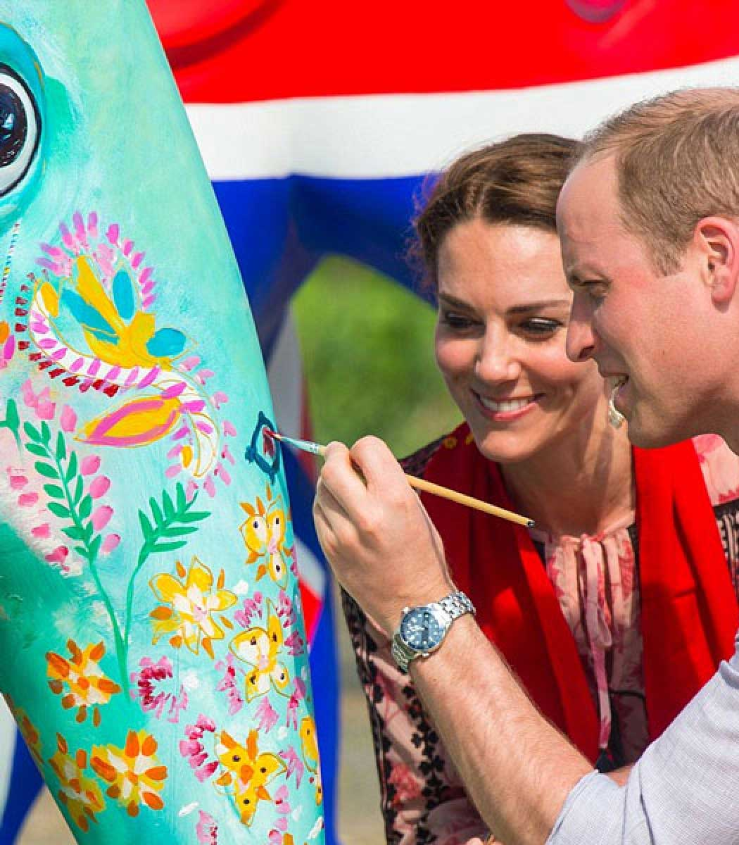 Elephant Parade has royal support