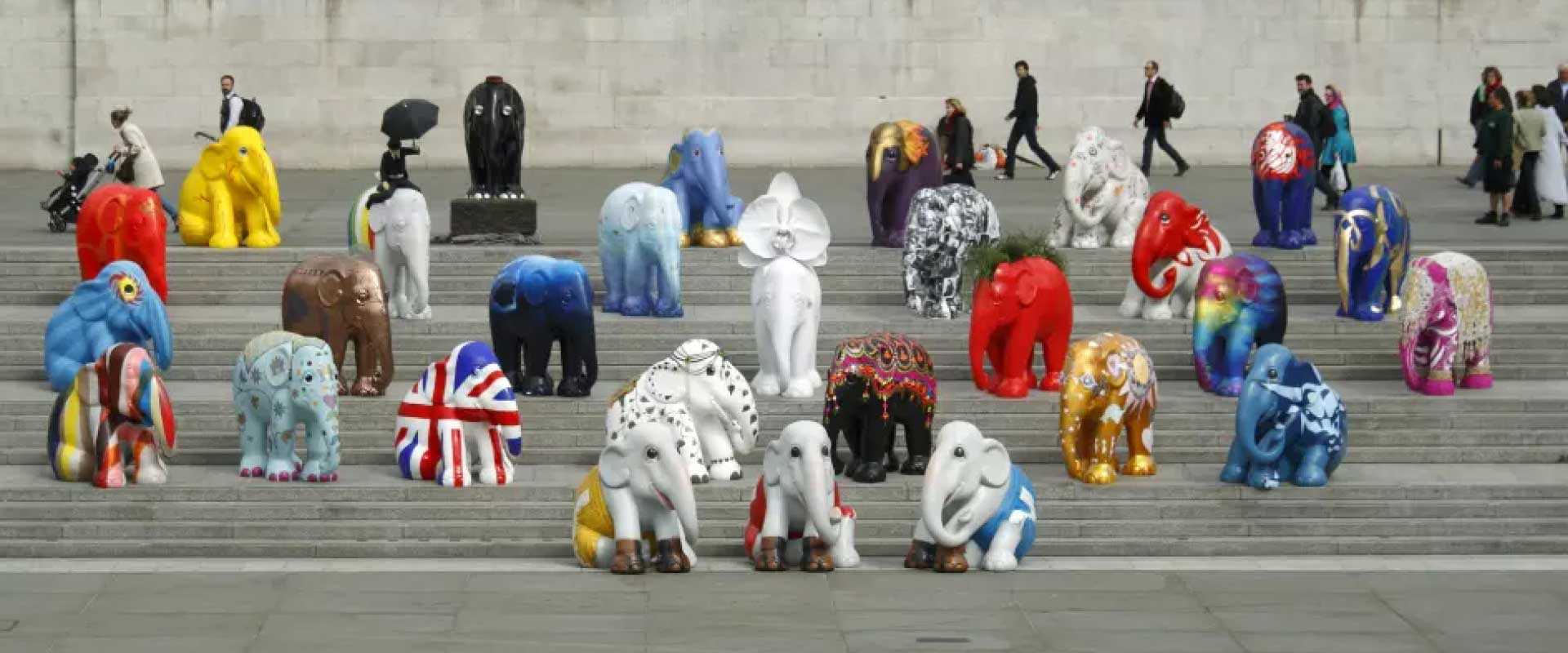 Elephant Parade in London