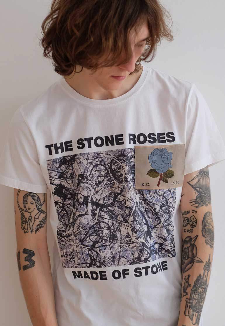 The Stone Roses in collaboration with Kent & Curwen