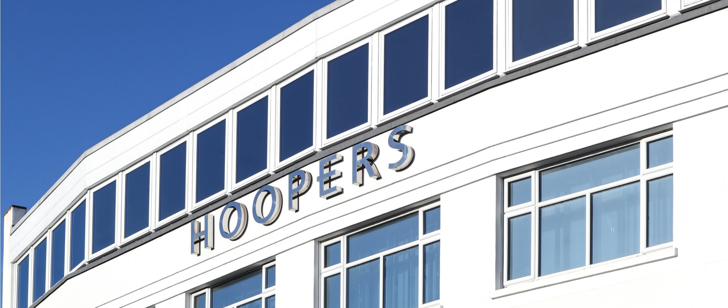 The front of Hoopers Torquay