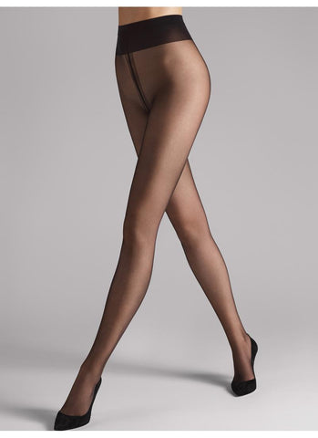 Wolford Tights Individual 10 Nearly Black