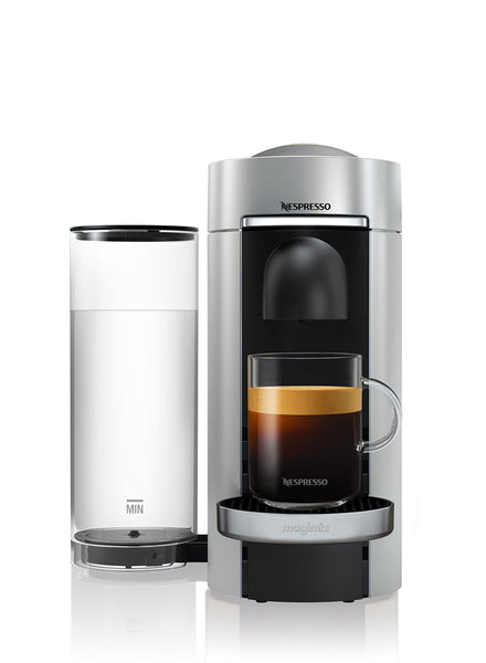 Nespresso VertuoPlus Coffee Machine in Silver