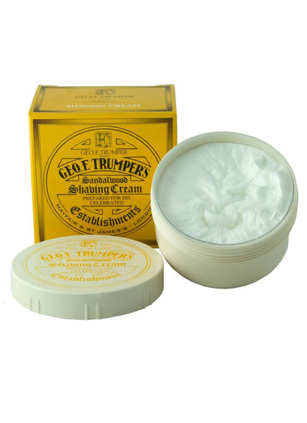 Geo F Trumper Sandalwood Shaving Cream in Bowl