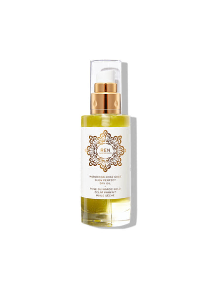 REN Moroccan Rose Otto Gold Glow Perfect Dry Oil 100ml
