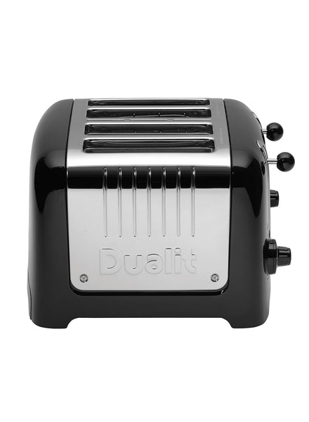 Dualit Lite 4 Slot Toaster In Black