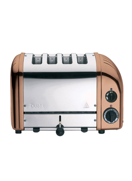 Dualit Classic Vario AWS 4 Slot Toaster In Copper