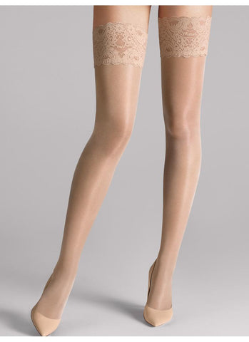 Wolford Tights Satin Touch 20 Stay Up Cosmetic