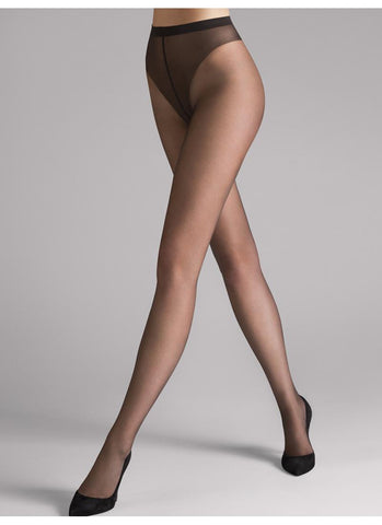 Wolford Tights Luxe 9 Caramel