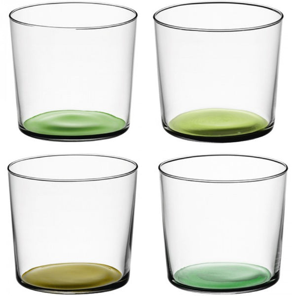 LSA Coro Tumbler 310ml Set of 4 Leaf