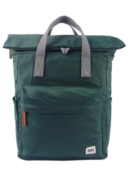 ROKA London Canfield B Medium Backpack Pine