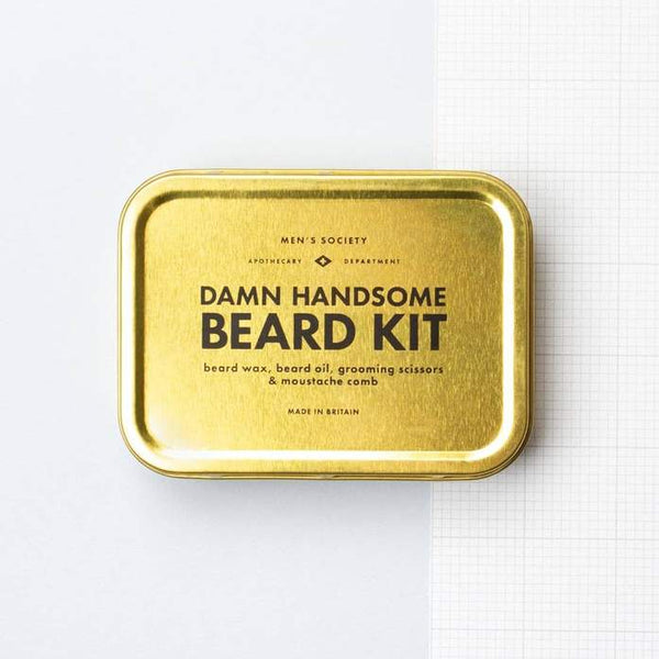 Men's Society Handsome Beard Kit