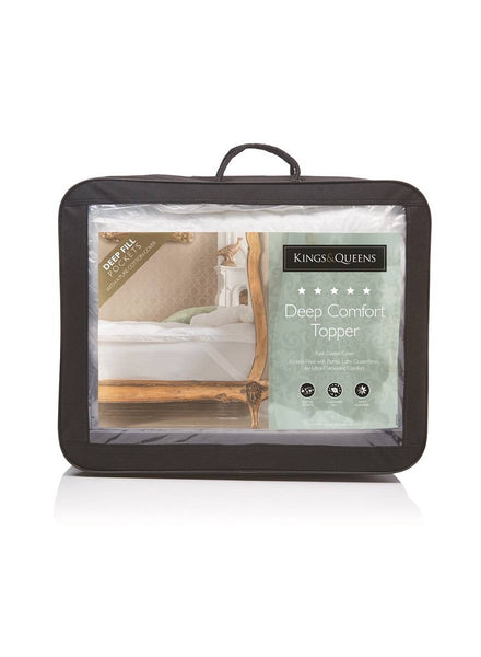 The Fine Bedding Company Kings & Queens Deep Comfort Topper
