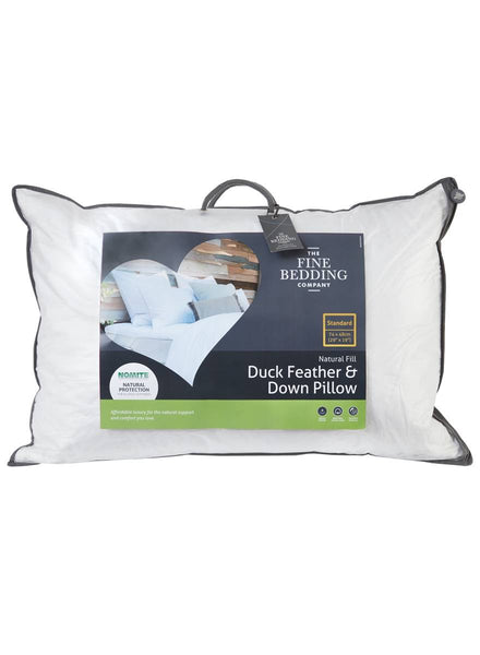 The Fine Bedding Company Duck Feather & Down Pair of Pillows