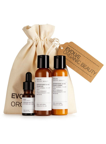 Evolve Organic Beauty Haircare Best Sellers Gift Set