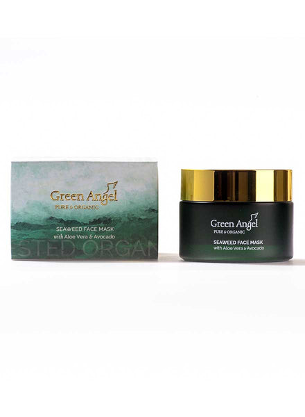 Green Angel Seaweed Face Mask with Aloe Vera & Avocado 50ml