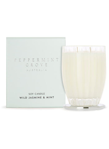 Peppermint Grove Wild Jasmine & Mint Large Candle 350g