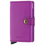 Secrid Miniwallet Leather Rango Violet Violet