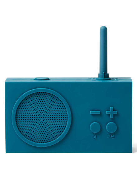 Lexon Tykho 3 BT/FM Rubber Radio Duck Blue