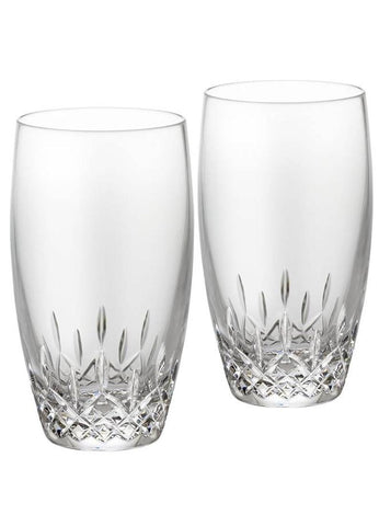 Waterford Lismore Essence Pair of High Ball Tumblers