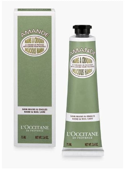 L'Occitane Almond Delicious Hands Hand & Nail Care Cream 75ml