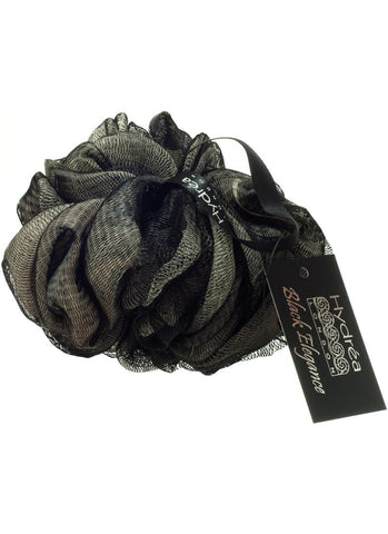 Hydrea London Black Elegance Bath Scrunchie