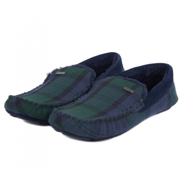 Barbour Monty Slipper - Black Watch