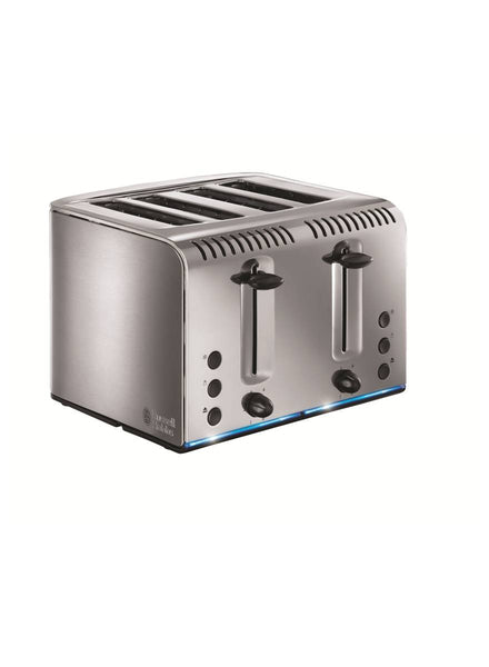 Russell Hobbs Buckingham Stainless Steel Four Slice Toaster