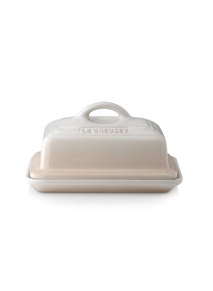 Le Creuset Stoneware Butter Dish Almond