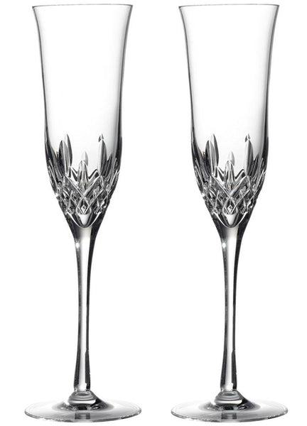 Waterford Lismore Essence Pair of Champagne Flutes
