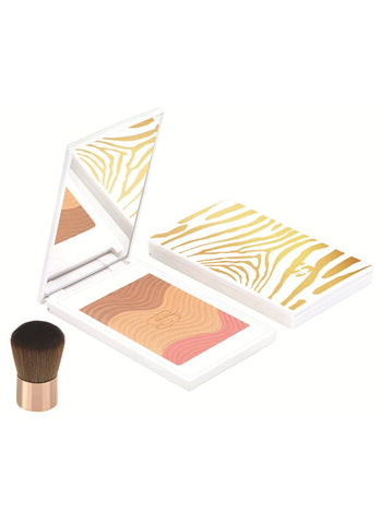 Sisley Phyto - Touche Sun Glow Powder Trio Golden Peach