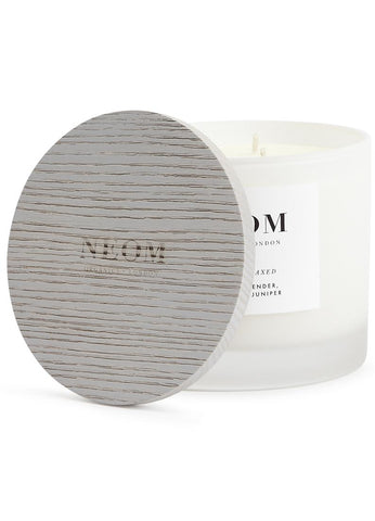 Neom Luxury Candle Wooden Candle Cap