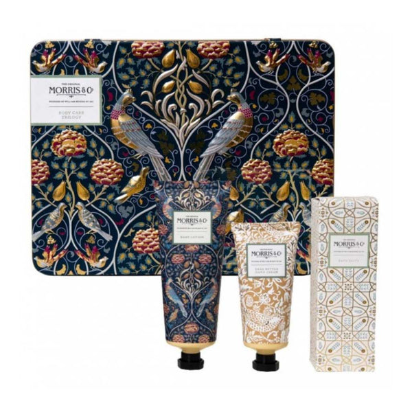 Heathcote & Ivory Morris & Co. Iris & Cardamom Body Care Trilogy