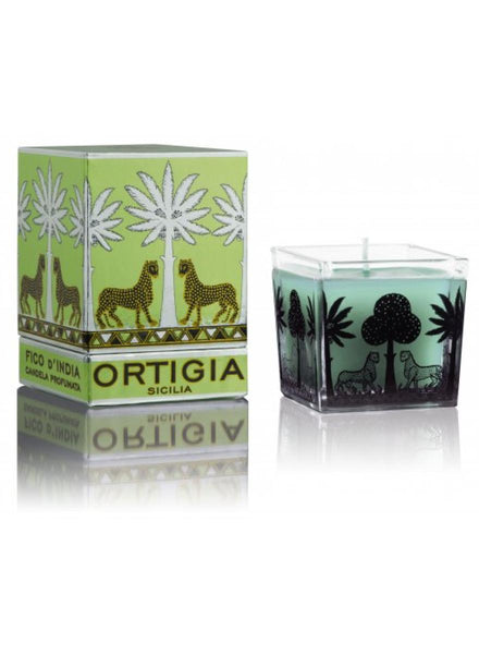 Ortigia Sicilia Fico d'India Square Candle