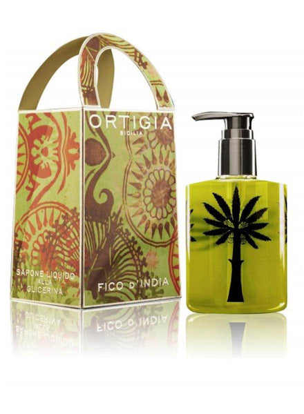 Ortigia Sicilia Fico D'India Liquid Soap 300ml