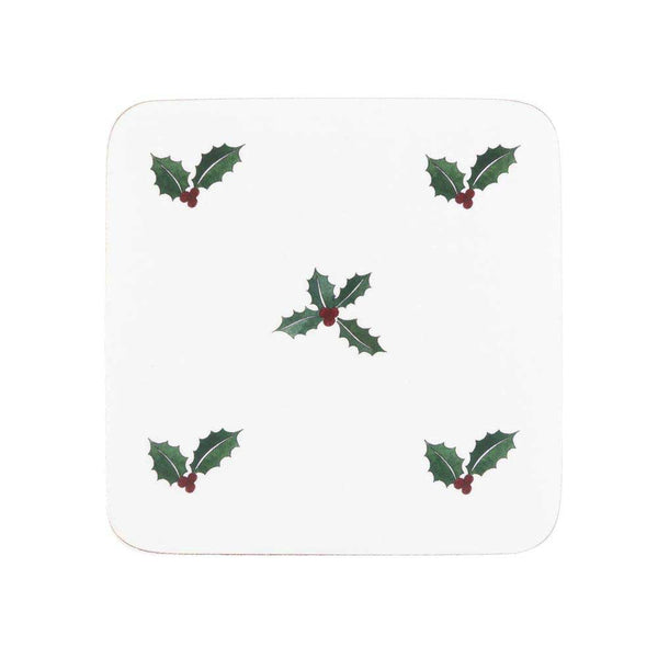 Sophie Allport Holly & Berry Coasters