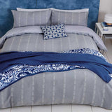 Helena Springfield Copenhagen Chambray Bedding in Blue