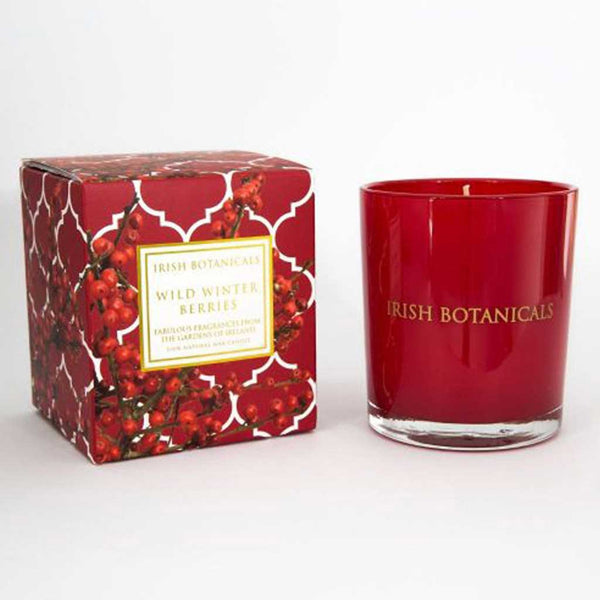 Irish Botanicals Wild Winter Berries Candle