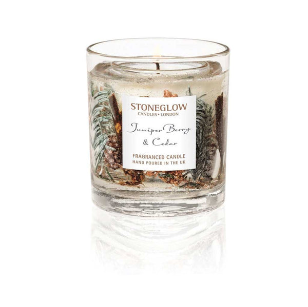 Stoneglow Juniper Berry & Cedar Natural Wax Tumbler