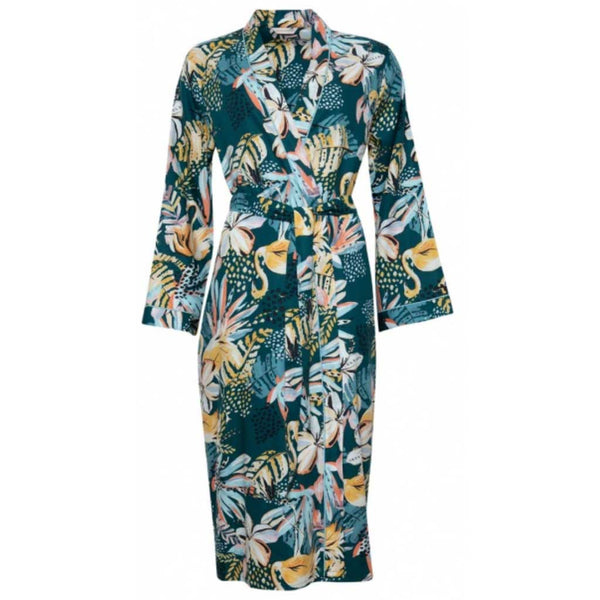 Cyberjammies Valerie Swan Print Long Dressing Gown