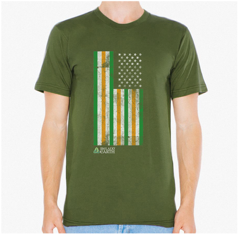 USA/ Ireland Flag - Ireland Earth Store