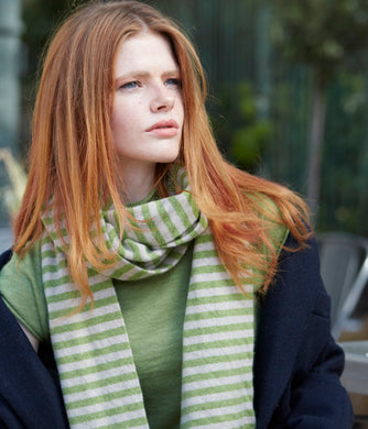 Narrow Stripe Scarf