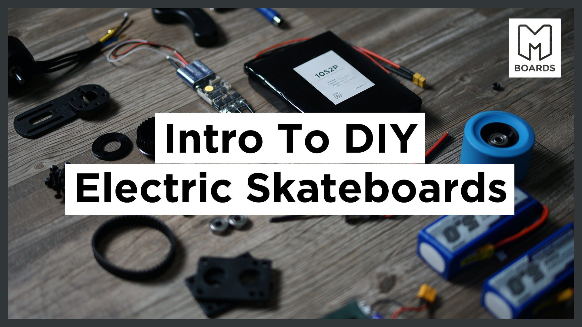 Intro to DIY Electric Skateboards