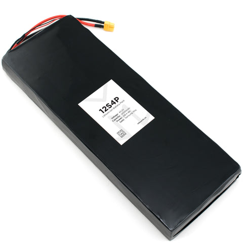 12s4p Complete Battery Solution
