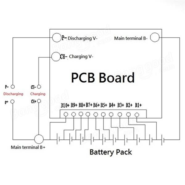 10s BMS - Battery Management System