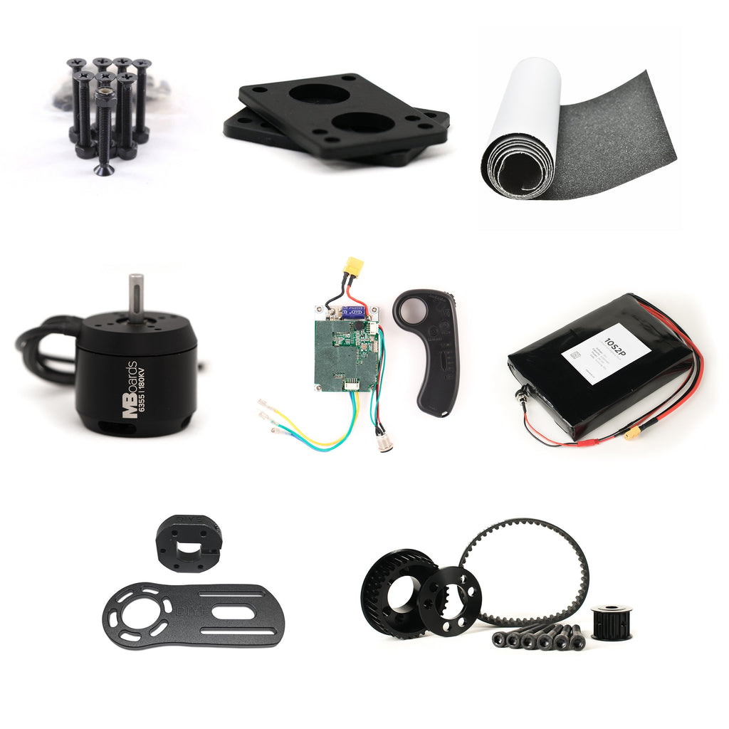 Single 6355 Motor Electric Skateboard Kit
