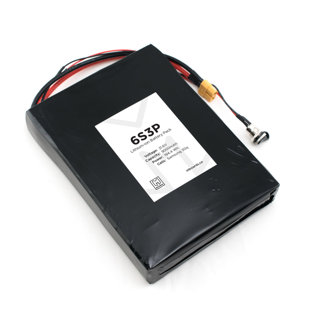 6s3p Complete Battery Solution