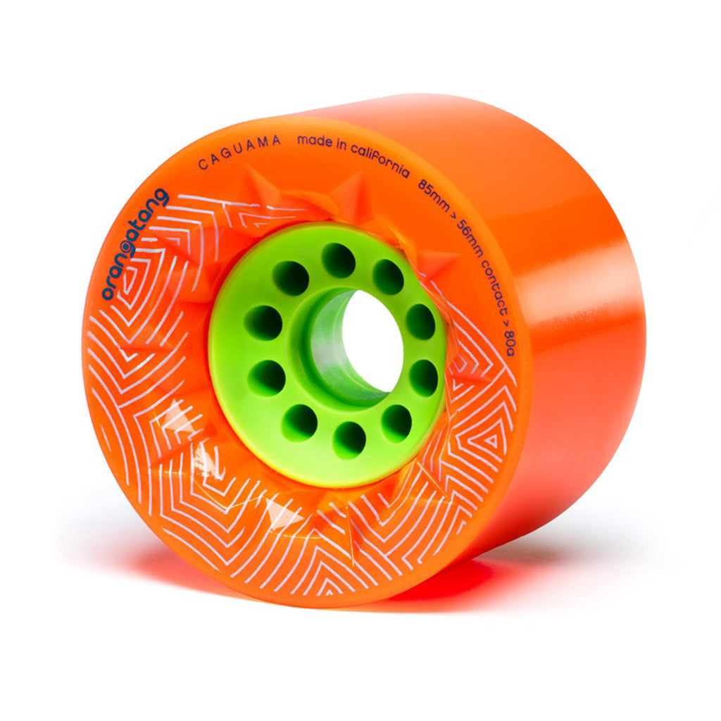 Orangatang Caguama Orange 80a Wheels